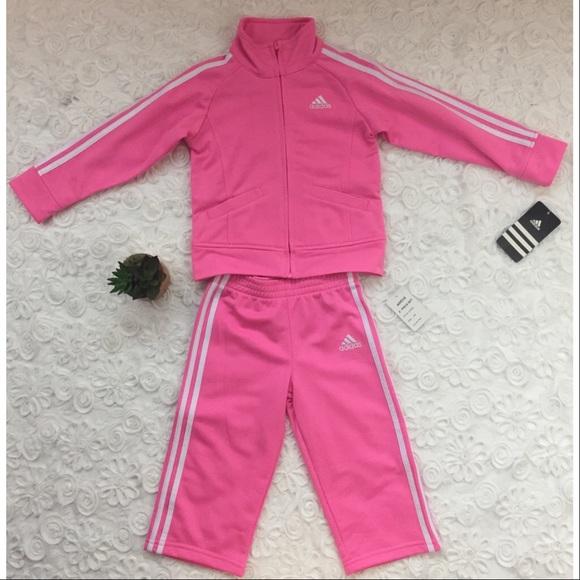 toddler girl adidas tracksuit