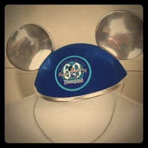 NWT Disneyland 60th Ear Hat with Patch