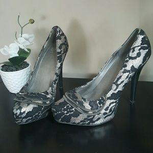 BKE Shoes - BKE Sole Sexy Platform Heels sz 9