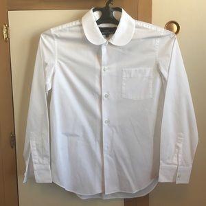 Comme des Garcons Tops - Comme des garcons tricot classic white shirt