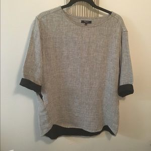 Madewell blouse tunic with pockets