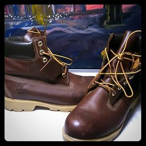 Timberland Other - Gently worn Brown leather Timberland boot