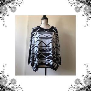 Elan Sweaters - 💼 Aztec Shark-bite Lightweight Sweater