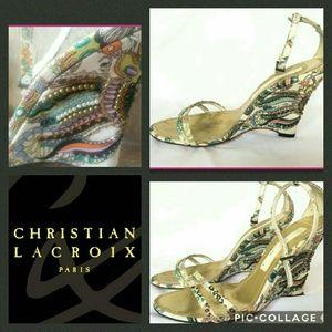 Christian Lacroix Shoes - Christian Lacroix stunning!