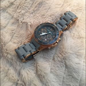 Marc by Marc Jacobs Grey &Rose Gold Bracelet Watch