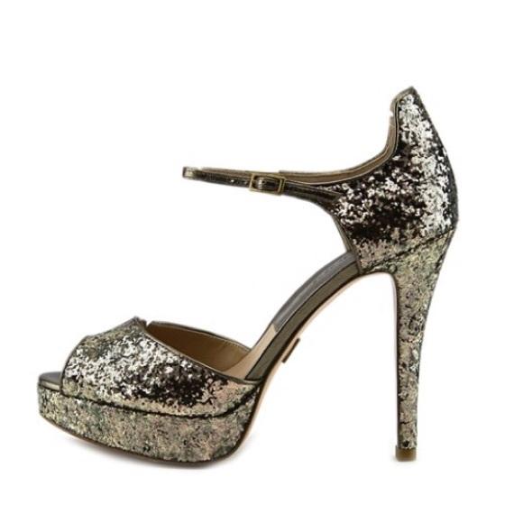 60ed91abce0 Michael Kors Kylie Platform Heel