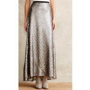 Anthropologie Dresses & Skirts - Anthropologie Liza Sequin Maxi Skirt