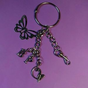 Baby Phat Accessories - Beautiful Baby Phat Keychain & Purse Pull key ring