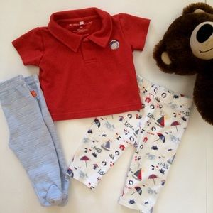 Magnificent Baby Other - BABY:  Magnificent Baby shirt & pant set