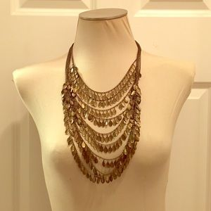Jewelry - Metal layer necklace