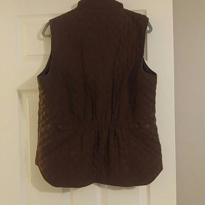 Outback Trading Company Jackets & Coats - Outback Trading Company Ladies Microsuede Vest