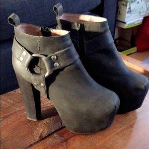 Jeffrey Campbell Shoes - Jeffrey Campbell Mojo Harness Platform Bootie!!