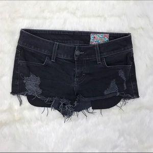 Siwy Pants - Siwy Black Jean Shorts