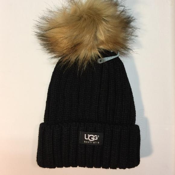 FINAL CUT - Black UGG Hat! ee07cfc6d0d