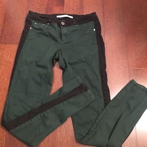 Tractr Denim - Tractr Green/Black Jeans