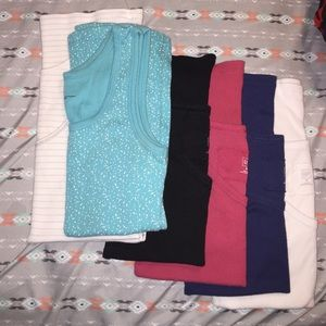 Lot of six Gap tank tops from the 1969 collection