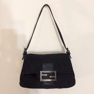 Fendi Handbags - Black FENDI Mini Mamma Forever Zucchino Bag