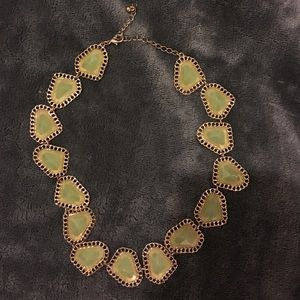 Francesca's Collections Jewelry - Beautiful Green & Gold Necklace