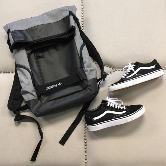 Adidas Bags   Fold Over Backpack   Poshmark 64543ba292