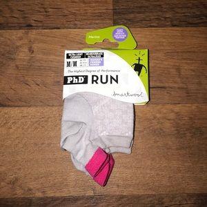 Smartwool Other - New Medium 7-9.5 Smartwool Running Socks Silver