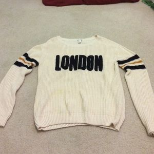 FOREVER 21 oversized crew neck sweater