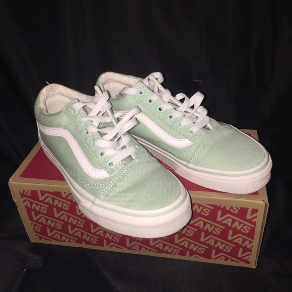 632bf3c51b81 Vans Shoes - Light pastel green vans