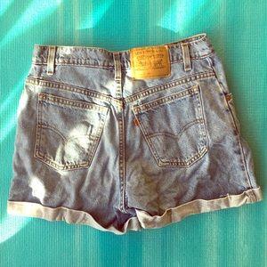 Vintage Levi Jean Shorts