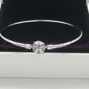 Pandora Jewelry - New Pandora Snowflake Bangle U Pick you Size
