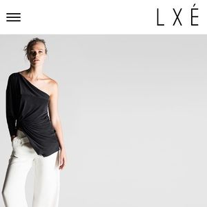 Lxe Australia sycamore one shoulder top