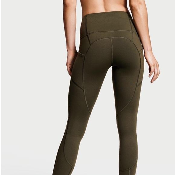 67a902c2b32 Victoria's Secret Pants | Victoria Secret Knockout Pocket Tights ...