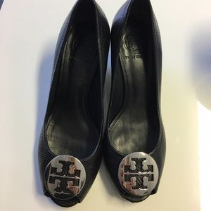 Tory Burch Shoes - Tory burch open toe wedges size 8