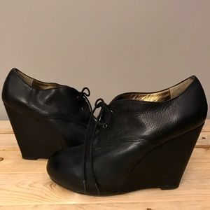 Cynthia Vincent Shoes - Twelfth St. by Cynthia Vincent Kole Oxford Wedges