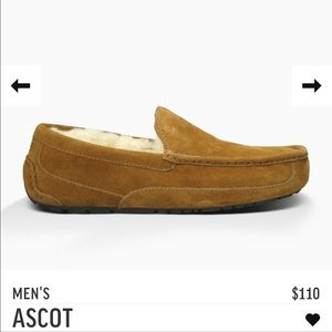 UGG Other - UGG M ascot 5775 chestnut new with box