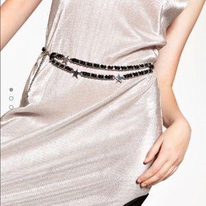 Zara Accessories - Zara stars chain belt