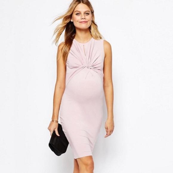 b7d38909837 ASOS Maternity Dresses   Skirts - ASOS Maternity PETITE Knot Front Bodycon  Dress
