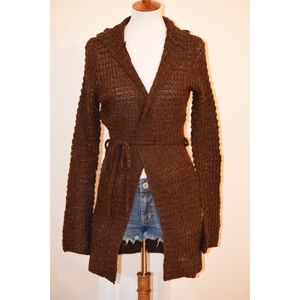 Sparkly brown cardigan