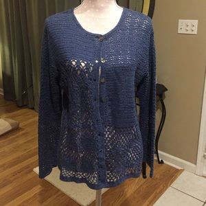 Tiara Sweaters - Women's Crocheted sweater