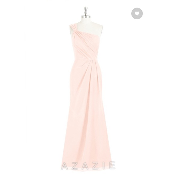 d92af2e745 azazie Dresses   Skirts - Azazie Carissa Bridesmaid Dress Pearl Pink