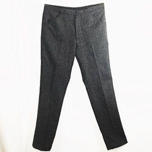 Prada Pants - PRADA WOOL STRAIGHT SLIM TROUSER IT 48 US 8 MED