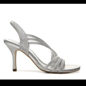 Unlisted Shoes - Silver Sparkle High Heels