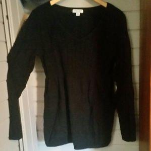 ☆☆☆Black xl maternity sweater