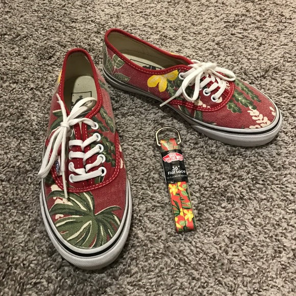 vans shoes print