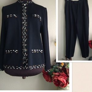  St. John Collection by Marie Gray Jacket Suit