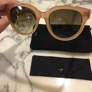 d98a2f848f72 Celine Accessories - New CÉLINE Audrey sunglasses opal brown CL41755
