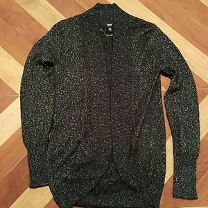 Mossimo Supply Co Sweaters - Black Sparkly Cocoon Sweater