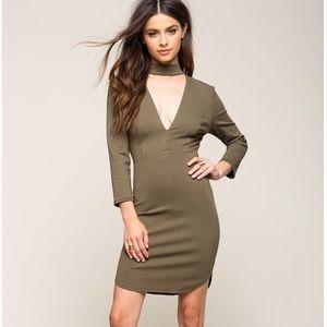 a'gaci Dresses & Skirts - Mock bodycon Dress