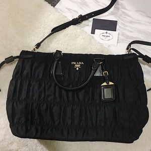 Prada Handbags - 💯Prada tessuto gaufre bag
