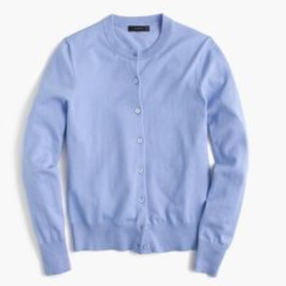 64% off J. Crew Sweaters - J.Crew Periwinkle Jackie Cardigan from ...