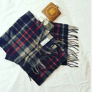 Highland House Other - Wool & Cashmere Plaid Scarf