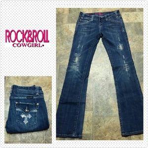 Rock & Roll Cowgirl Denim - R & R Cowgirl 26x32.5